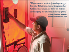 central maine energy audit company home performance plus